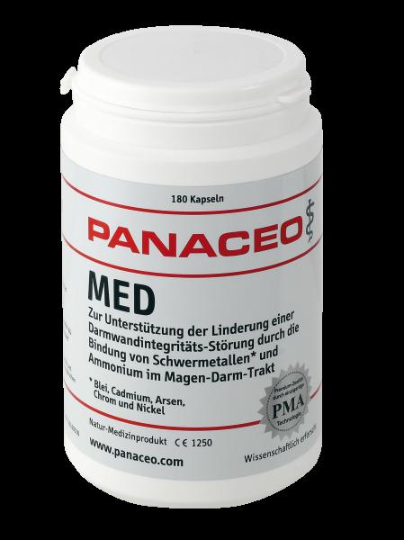PANACEO Med (180 Kapseln)