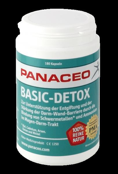 PANACEO Basic-Detox (180 Kapseln)